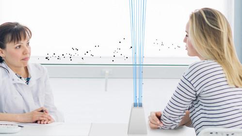 Airshield® - Une technologie de capture des virus qui permettra aux patients de consulter leur médecin en toute sécurité est en cours de développement pour être fabriquée au Royaume-Uni.