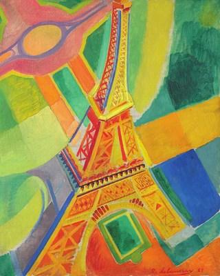 Robert Delaunay, La Tour Eiffel (1928)