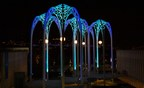 Pacific Science Center Teams Up with AWS and the Seattle Kraken to Light Up its Iconic Arches as Part of the Game-Day Experience