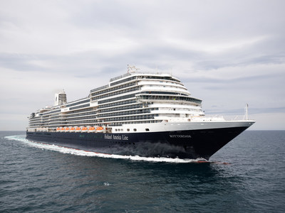 Holland America Line's Rotterdam Departs on Maiden Voyage from Amsterdam to Florida for Inaugural Caribbean Season
