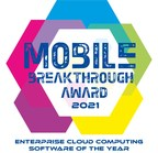 """Forward Networks Wins """"Enterprise Cloud Computing Software of the Year"""" Award in 2021 Mobile Breakthrough Awards Program"""