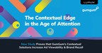 New Research Proves Contextually Targeted Ads Drive an Increase in Consumer Brand Recall By 70%