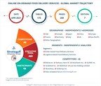 New Study from StrategyR Highlights a $202.6 Billion Global Market for Online On-Demand Food Delivery Services by 2026
