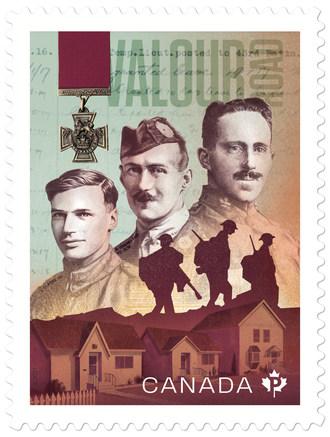 加拿大邮政向英勇之路致敬