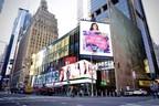 Carlos Ponce, Tania Medina, Karina Banda, Ingrid Macher And Pablo García Close The Breast Cancer Awareness Campaign In Times Square