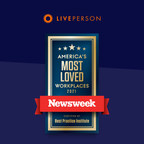 LivePerson named to Newsweek's list of the Most Loved Workplaces...