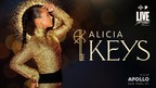 Alicia Keys Returns to the Apollo to Perform One Night Only...