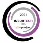 Companjon wird als INSURTECH100 Leader für Innovationen in der globalen Versicherungsbranche ausgezeichnet