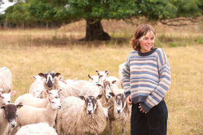Campaign For Wool sweater by Brora