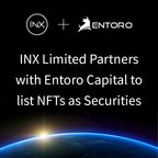 INX Limited Partners with Entoro Capital to List NFTs Offered as Securities