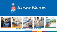 The Sherwin-Williams Company Reports 2021 Third Quarter Financial ...