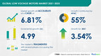 Low Voltage Motors Market to Grow by USD 4.99 Bn |Industry Analysis, Market Trends, Market Growth, Opportunities, and Forecast|17,000+ Technavio Research Reports