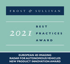 Frost & Sullivan Recognizes Arbe With the 2021 Europe New...