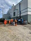 多亏了Avataa Rouillier钻井公司,钻井领域新增了5名工人