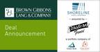 BGL Announces the Sale of Shoreline Vinyl Systems