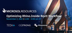 Microsol Resources discusses how to Optimize Rhino.Inside.Revit during upcoming TECH+ virtual conference