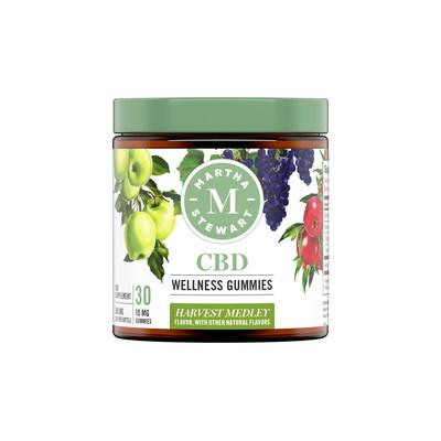 Martha Stewart CBD Wellness Harvest Medley Gummies (CNW Group/Canopy Growth Corporation)