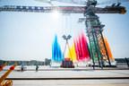 Zoomlion lanza la grúa torre giratoria más grande del mundo