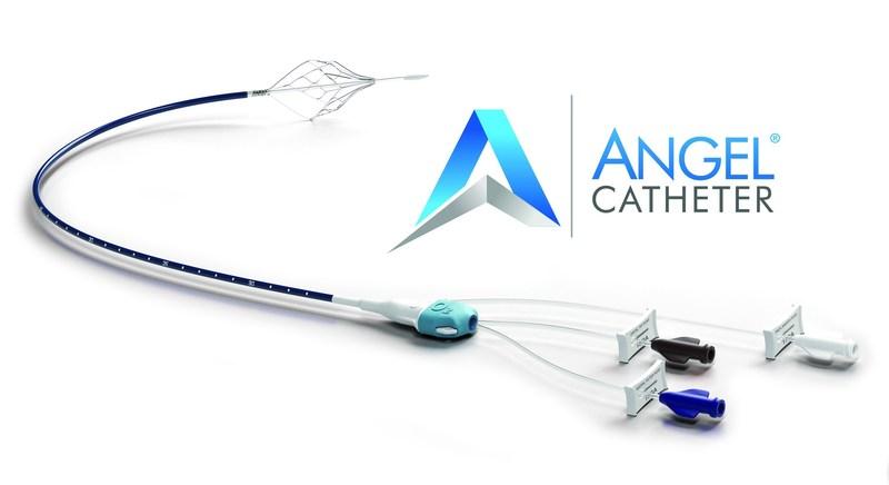 Angel Catheter (PRNewsFoto/BiO2 Medical, Inc.)