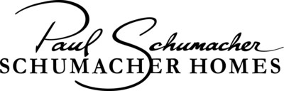 Schumacher Homes logo. Schumacher Homes, based in Canton, Ohio, is America's largest custom homebuilder, with operations in 32 markets in 14 states across the country. The National Housing Quality award winning company and recipient of the National Gold Winning Home of the Year has built over 12,000 homes since its founding by Paul Schumacher in 1992 - each one unique to the needs and lifestyle of the owners. Schumacher Homes simply takes the customer's inspiration and gives it a home. (PRNewsFoto/Schumacher Homes)