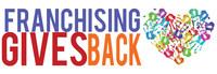 Franchising Gives Back Logo (PRNewsFoto/International Franchise Associat)