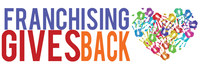 Franchising Gives Back Logo (PRNewsFoto/International Franchise Associat)
