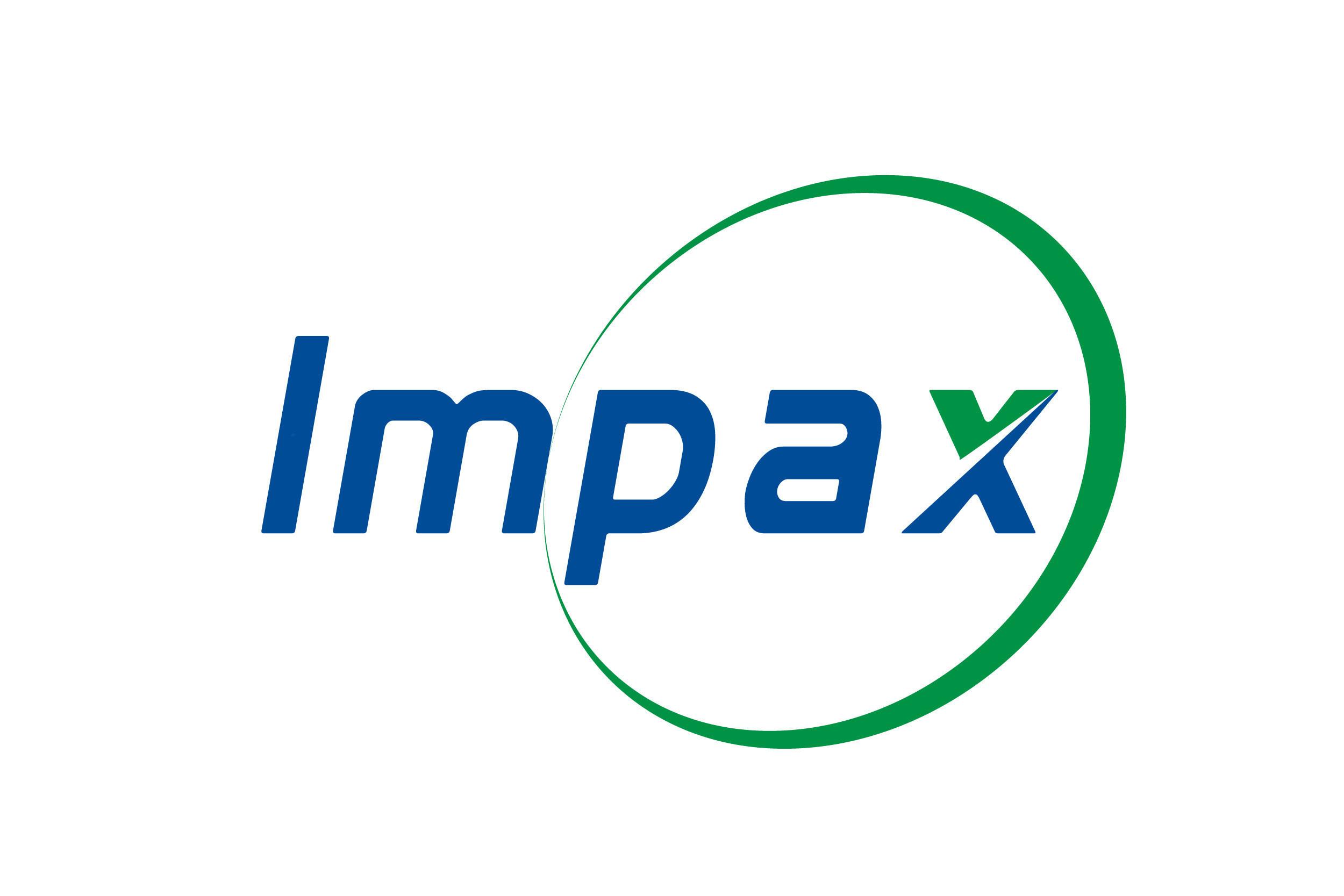 Impax Laboratories Launches New Logo (PRNewsFoto/Impax Laboratories, Inc.)