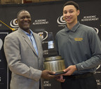 In its 30th year of honoring the nation's best high school athletes, The Gatorade Company, in collaboration with USA TODAY High School Sports, announced Ben Simmons of Montverde Academy (Montverde, Fla.) as its 2014-15 Gatorade National Boys Basketball Player of the Year on Tuesday, March 24, 2015. Simmons was surprised with the news at his school by nine-time NBA All-Star Dominique Wilkins.