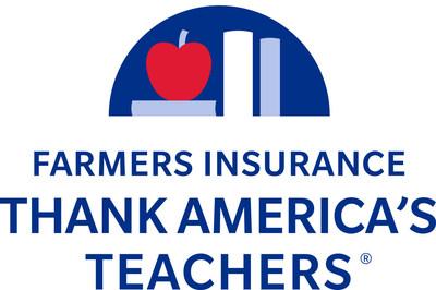 Farmers Insurance Thank America's Teachers (PRNewsFoto/Farmers Insurance)