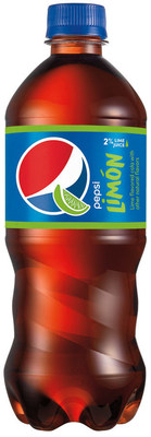 Pepsi Limon Made With a Hint of Real Lime Juice