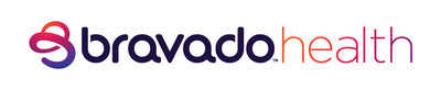 Bravado Health's new logo. Visit bravadohealth.com to learn more.