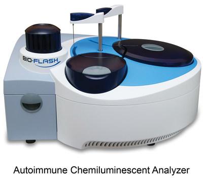 Rapid response autoimmune chemiluminescent analyzer (PRNewsFoto/Inova Diagnostics) (PRNewsFoto/Inova Diagnostics) (PRNewsFoto/Inova Diagnostics)
