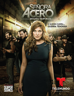 Senora Acero Second Season. Monday to Friday 10PM/9c. Airs on Tuesday, September 22 on TELEMUNDO
