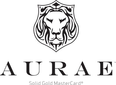 Aurae Solid Gold MasterCard (PRNewsFoto/Aurae)