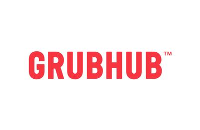 Grubhub logo. (PRNewsFoto/GrubHub)