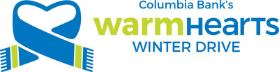 Columbia Bank Warm Hearts Winter Drive logo. (PRNewsFoto/Columbia Banking System, Inc.)