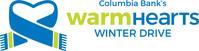 Columbia Bank Warm Hearts Winter Drive logo. (PRNewsFoto/Columbia Banking System, Inc.)