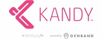 Kandy logo (PRNewsFoto/GENBAND)