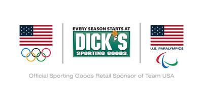 DICK'S Sporting Goods Team USA logo (PRNewsFoto/DICK'S Sporting Goods)