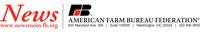 American Farm Bureau Federation News release letterhead (PRNewsFoto/American Farm Bureau Federation) (PRNewsFoto/American Farm Bureau Federation)