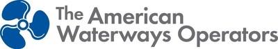 American Waterways Operators Logo (PRNewsFoto/American Waterways Operators)
