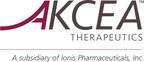 Akcea Therapeutics, Inc. (PRNewsFoto/Ionis Pharmaceuticals) (PRNewsFoto/Ionis Pharmaceuticals)