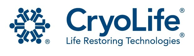 Cryolife logo. (PRNewsFoto/CryoLife, Inc.) (PRNewsFoto/CRYOLIFE_ INC_) (PRNewsFoto/CRYOLIFE, INC.)
