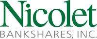 Nicolet Bankshares, Inc. Logo (PRNewsFoto/Nicolet Bankshares, Inc.) (PRNewsFoto/Nicolet Bankshares, Inc.)