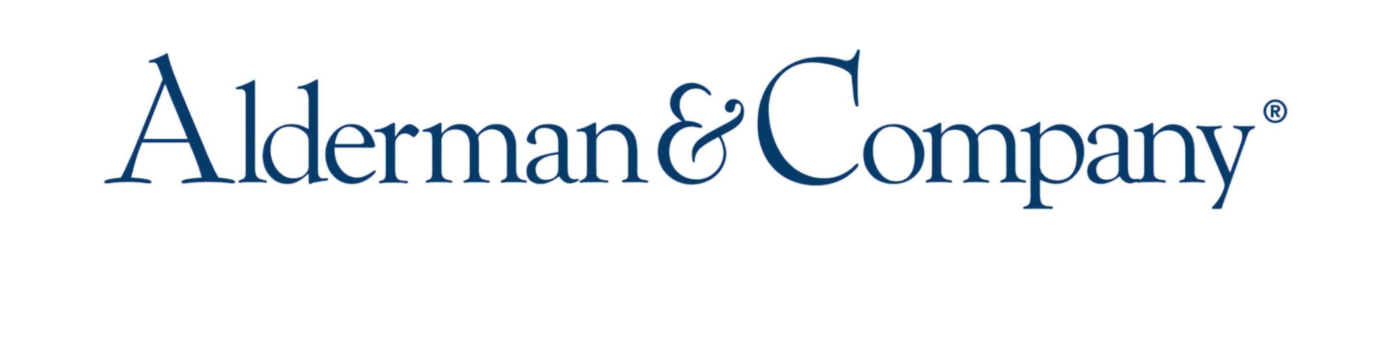 Alderman Logo (PRNewsFoto/Alderman & Company)