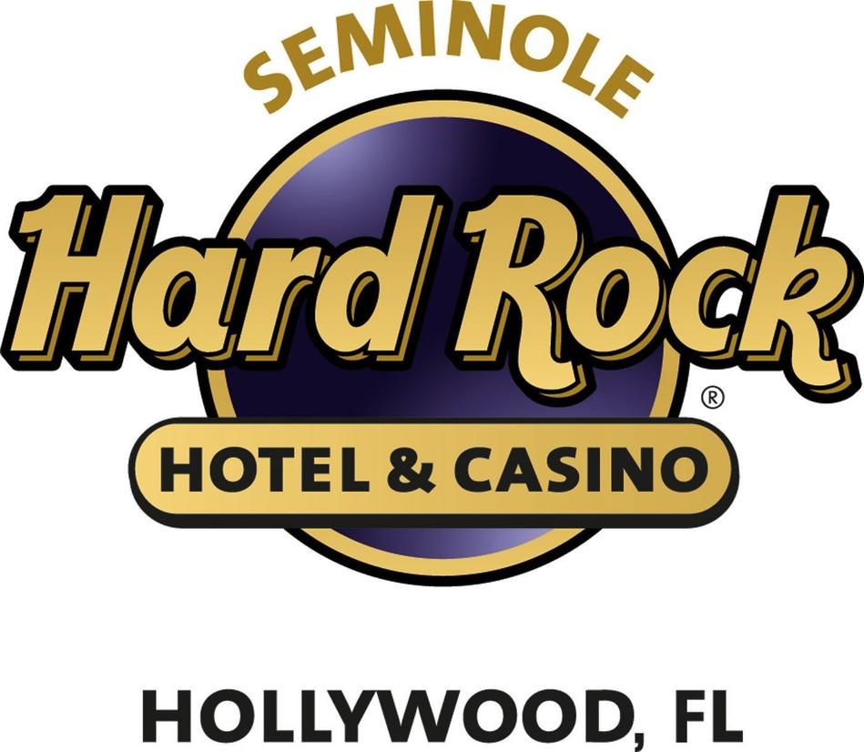 Seminole Hard Rock Hotel & Casino Hollywood logo. (PRNewsFoto/Seminole Hard Rock Hotel & Casino Hollywood) (PRNewsfoto/Seminole Hard Rock Hotel & Casi)