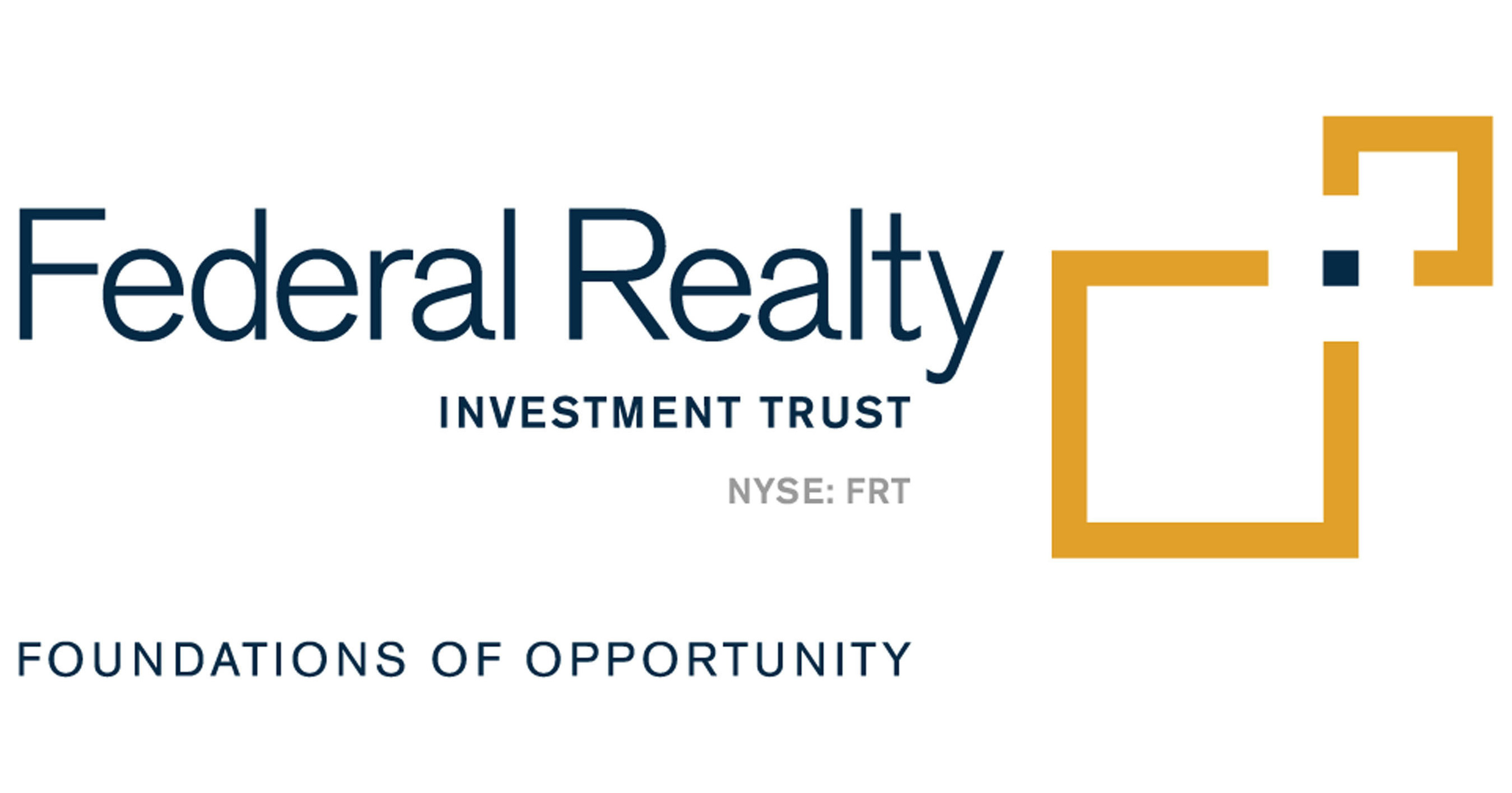 Federal Realty Investment Trust Prices $300 Million of 3 20% Notes
