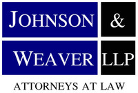 Johnson & Weaver LLP (PRNewsFoto/Johnson & Weaver LLP) (PRNewsFoto/Johnson & Weaver LLP)