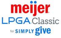 The 2016 Meijer LPGA Classic for Simply Give tournament will be held June 13-19 at Blythefield Country Club, and benefit Meijer's Simply Give program that restocks the shelves of food pantries across the Midwest. (PRNewsFoto/Meijer)