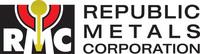 Republic Metals Corporation Logo. (PRNewsFoto/Republic Metals Corporation) (PRNewsFoto/REPUBLIC METALS CORPORATION)